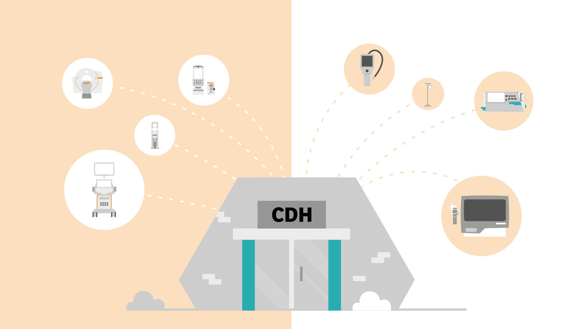 A journey of diagnostic transformation starts with community hubs