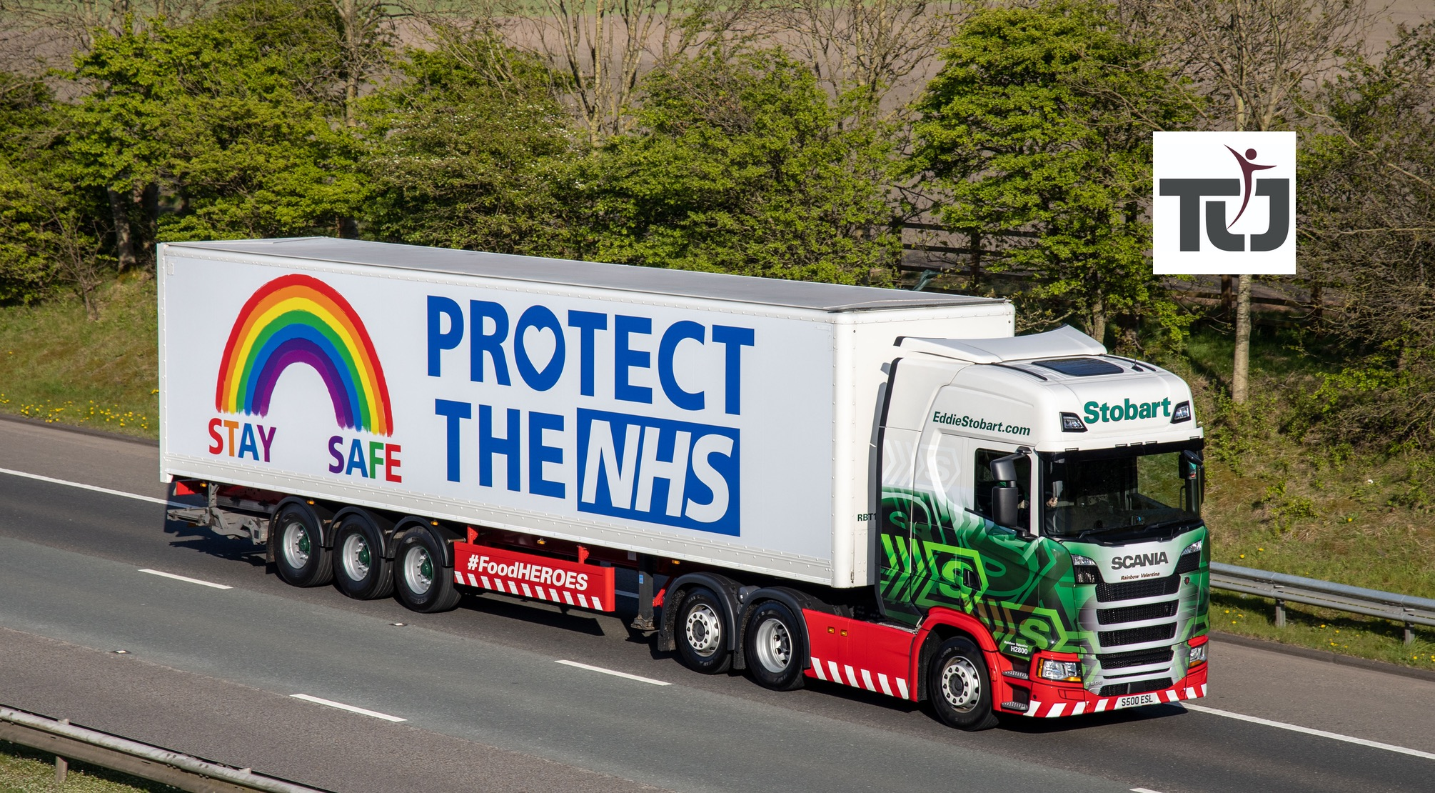 Eddie Stobart supports national effort to combat Covid-19