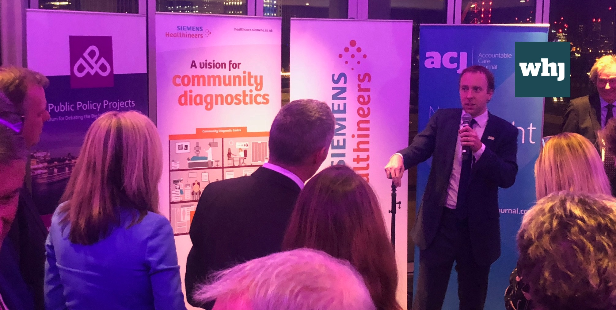 Secretary of State outlines disruptive tech vision for health and care