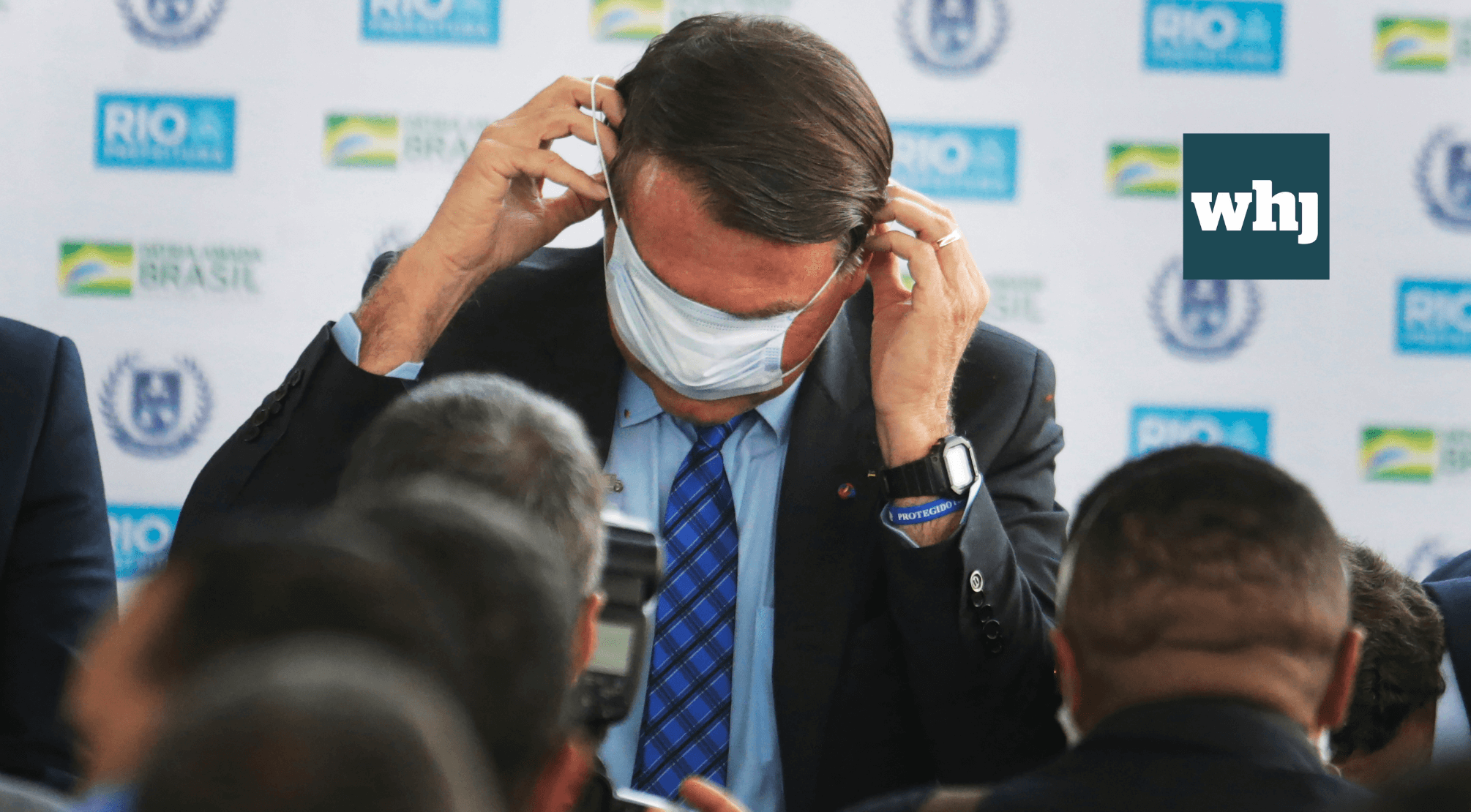 """Brazilian pandemic politics """"for the world to see"""""""
